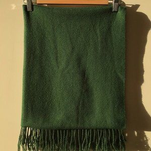 Oversized Large Forest Green Scarf